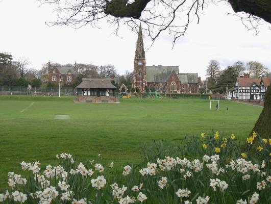 Thornton Hough Village Green